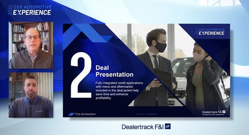 Spinning Deals: Top Industry Solutions to Drive F&I Efficiency in 2021