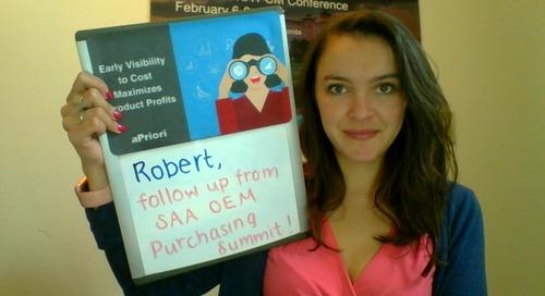 Video message for Robert Kinchen