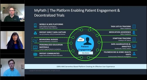 My Path for Clinical, Enabling Decentralized Clinical Trials