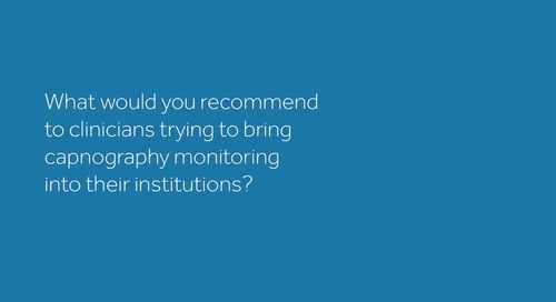 Using Capnography for Patient Safety and Comfort