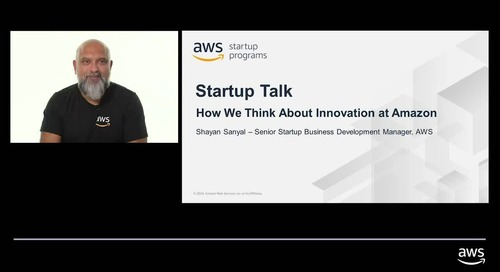Startup talks: how Amazon thinks about Innovation