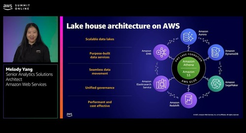 Harness the power of data with AWS analytics