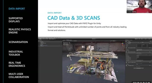 Interact: Human centered simulation for Industry