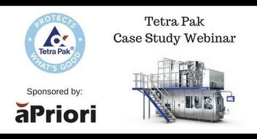 Tetra Pak Identifies Cost Drivers in Early Design and Improves Supplier Negotiations with aPriori