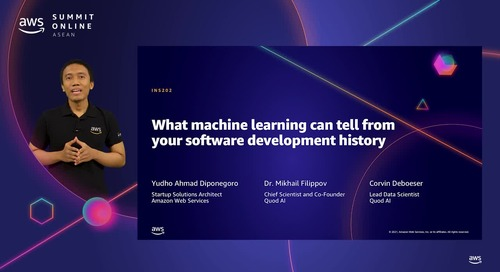 What machine learning can tell from your software development history [L200]
