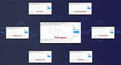 High Current DC Voltage Management in Power Systems with PSpice