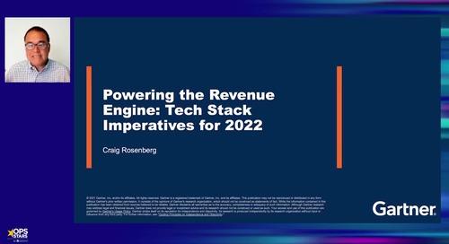 Powering the Revenue Engine: The 2022 Revenue Tech Stack