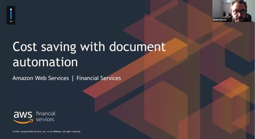 Gain rapid insight from documents - How AI can reduce costs for the Financial sector