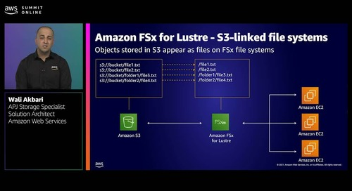 Selecting AWS services to simplify file architecture