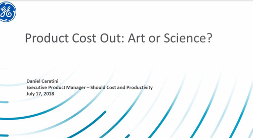 GE Drives Culture Focused on Product Cost