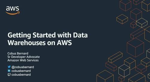 Getting Started with Data warehouses on AWS