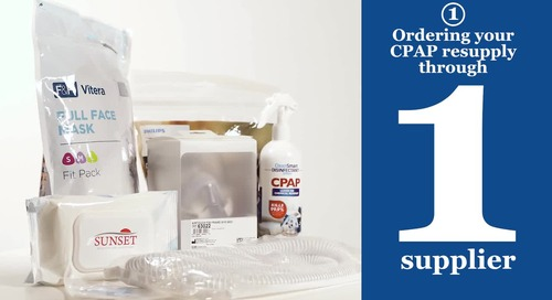 Why choose McKesson for your CPAP resupplies?
