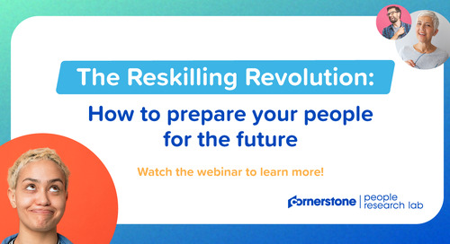 The Reskilling Revolution: How to prepare your people for the future