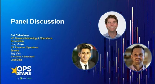 OpsStars Panel: Building Airtight Sales & Marketing Alignment for Extraordinary ABM