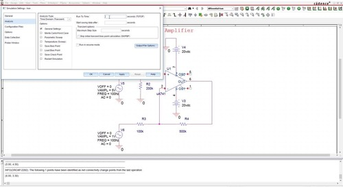 Circuit Simulation - OrCAD Product Feature