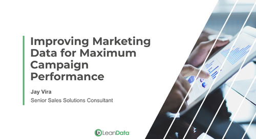 Improving Marketing Data for Maximum Campaign Performance