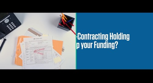 Are re-contracting errors delaying your funding? (copy)