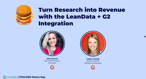 Turn Research into Revenue with the LeanData + G2 Integration