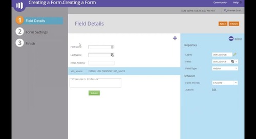 Creating a Form 102- 2019.10.28