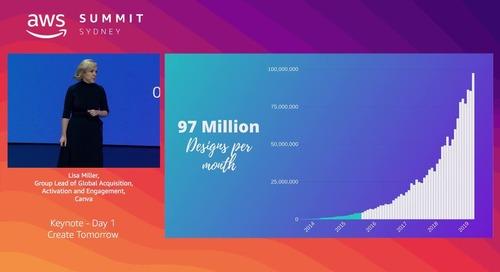 AWS Summit Sydney - Keynote - Create Tomorrow