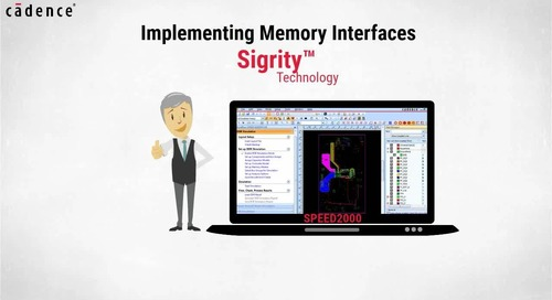 Sigrity Tech Tip - DDR interfaces