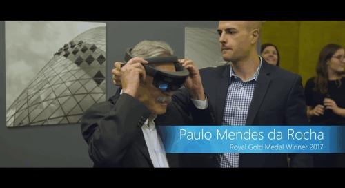 Microsoft HoloLens RIBA Architects and Mixed Reality