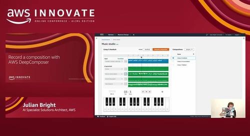 Get started with generative AI using AWS DeepComposer (Level 300) - AWS Innovate
