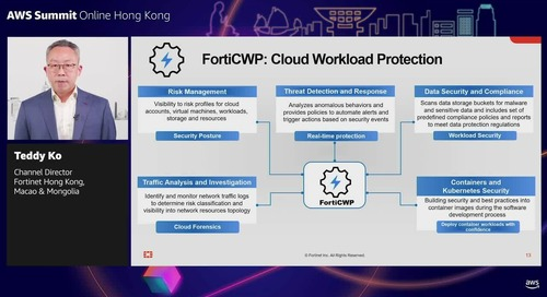 Sponsored by Fortinet: Adaptive cloud security for your workloads on AWS