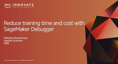 Reduce Training Time and Cost with SageMaker Debugger  [Level 300]
