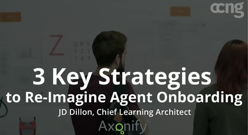 Webinar: 3 Key Strategies to Re-Imagine Agent Onboarding
