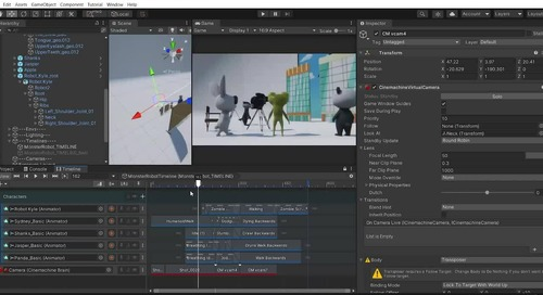 Cinemachine: Real-time virtual cameras for animated storytelling