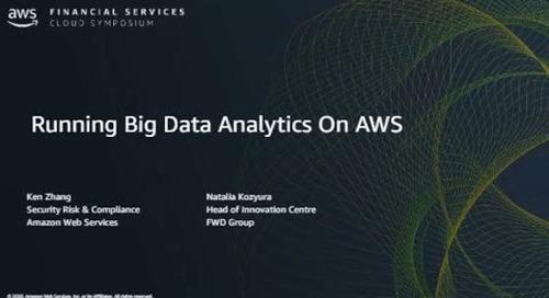 Running Big Data Analytics on AWS