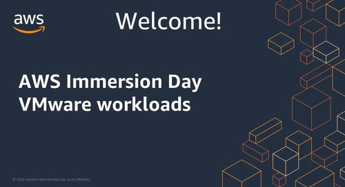 Immersion Day: VMware Workloads EN