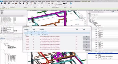 Design, Route, Calculate and Collaborate, Trimble Solutions for Electrical Professionals