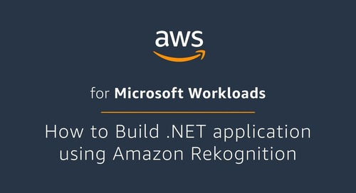 How to Build .NET Application using Amazon Rekognition