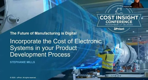Incorporating Costing of Electronic Systems into Your Product Development Process