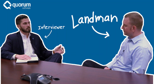 A Landman's Perspective on Land Management Software
