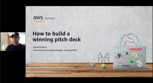 AWS Startup Academy: Building a winning pitch deck
