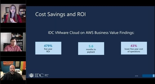 VMC IDC Analyst Webinar