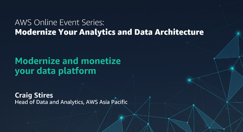 Modernize and monetize your data platform
