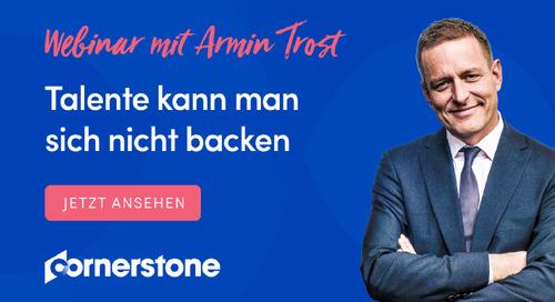 Webinar mit Armin Trost - Talententwicklung