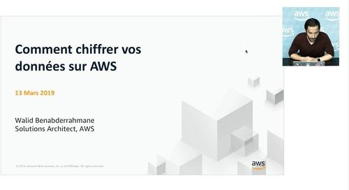 Webinaires sécurité AWS : Bonnes pratiques de chiffrement de données sur AWS