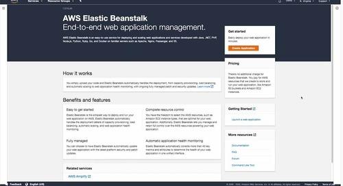 Elastic Beanstalk demo