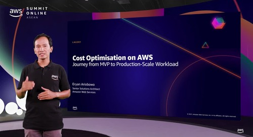 Cost optimisation on AWS - Journey from MVP to production-scale workload [L200]