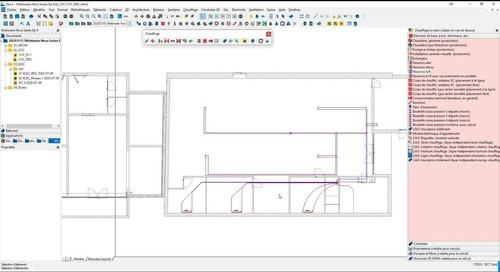 NovaSeries : Production de réseaux filaires - 3D et notes de calculs pour les réseaux hydrauliques
