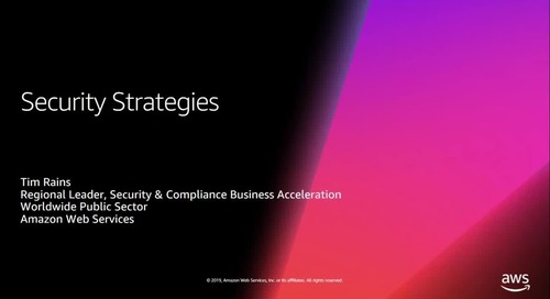 Webinar - Cloud Security Strategies