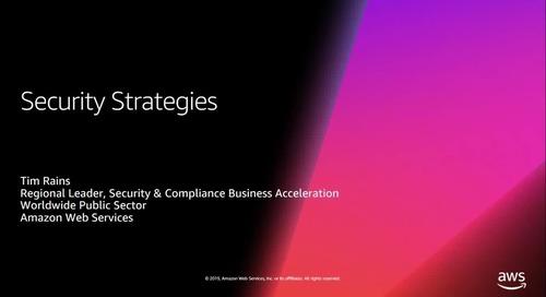 Webinar - Cloud Security Strategies
