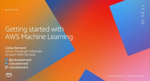 Getting Started on AWS | Machine Learning
