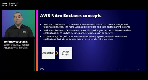 AWS Nitro Enclaves: Isolated compute environments to protect highly confidential data