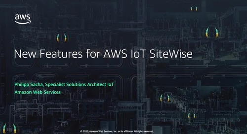 New Features for AWS IoT SiteWise